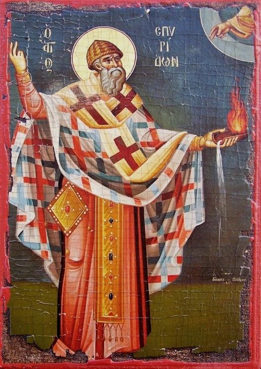 Sfantul Ierarh Spiridon si Sfanta Imparateasa Teodora – protectorii Kerkyrei